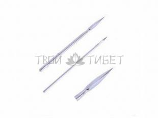 5 трехгранных игл 1.6x65 мм