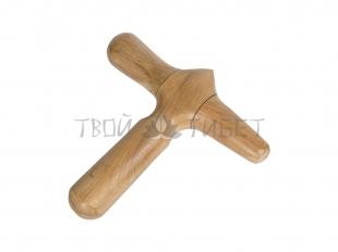 Акупрессурный инструмент из сандала 12*12*2 см