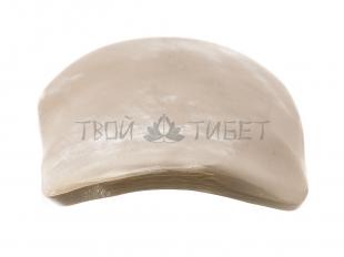 Скребок гуаша из рога носорога, 12x5 см