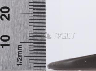 Скребок гуаша Шитоуцзи из камня бянь, 11x6 см