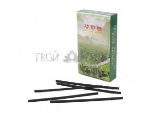 Угольная бездымная сигара 0,4*12 см для прижигания
