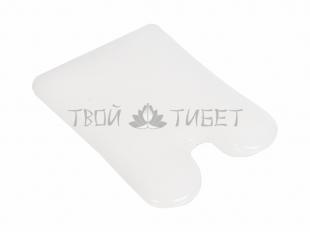 Универсальный скребок гуаша из белого нефрита