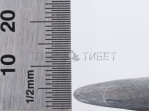Гребень-скребок гуаша из камня бянь, 100x65 мм
